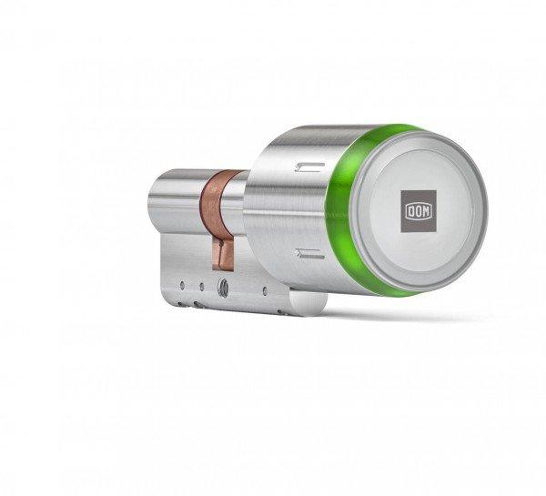 ENiQ Pro V2 BLE Doppelzylinder ohne Innenknauf Green LED