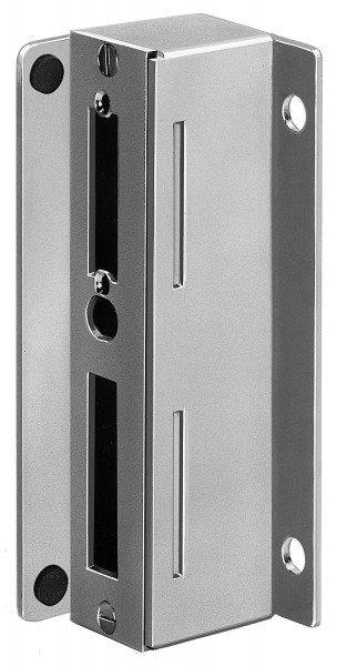 Schließkasten Nr. 147A, 40 mm, verzinkt für Dübelbefestigung