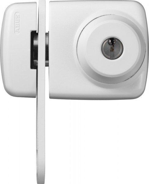 ABUS 7535 Kompaktes Tür Zusatzschloss weiß