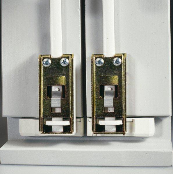 Doppelschliessblech für FOS 550/650 Fenster-Stangenschloß ABUS