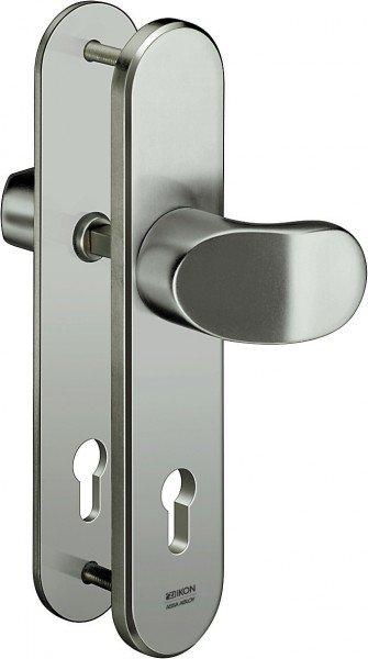 S318 Stahl-Schutzbeschlag ohne Zylinderabdeckung