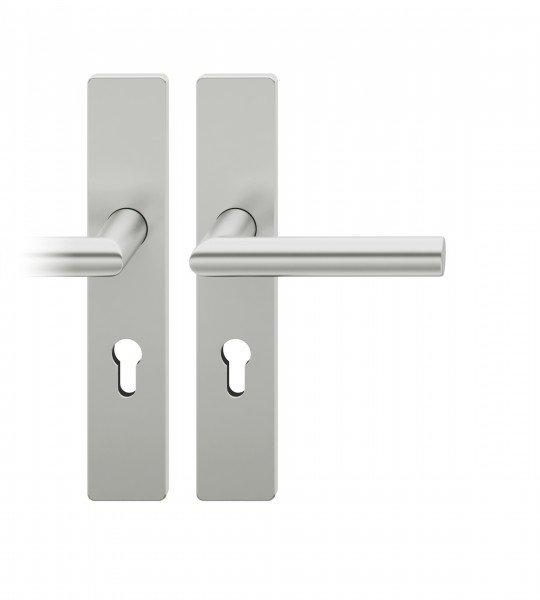FSB Modell 12 1076 PZ Schlüssellochung Aluminium naturfarbig eloxiert