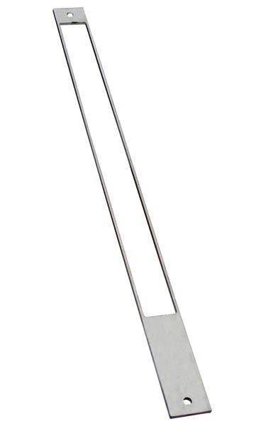 Edelstahl-Distanzplatte zur Anpassung der Falzluft