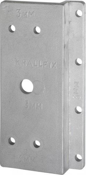 Bohrschablone für Krallfix 3 Türensicherung