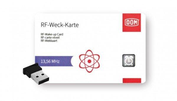 ENiQ USB-BLE-Stick mit Weckkarte