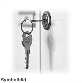 Ersatzschlüssel nach Nummer gefertigt