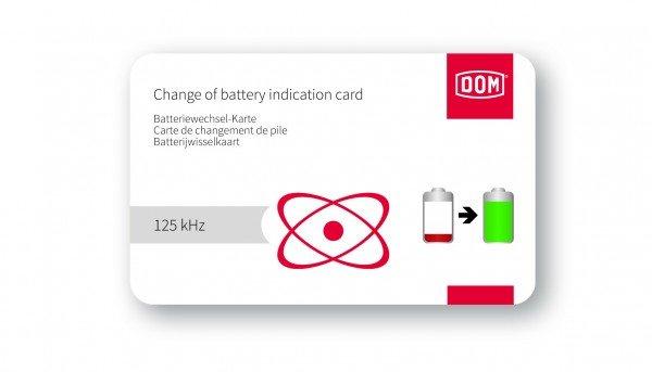 DOM ELS Batteriewechselkarte 125 kHz
