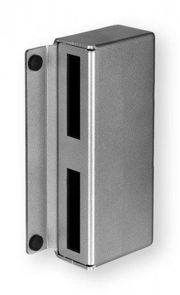 Gegenkasten 146GS, 30 / 40 mm, blank, schmal