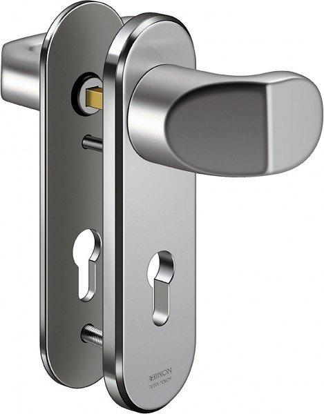 S328 Stahl-Schutzbeschlag Kurzschild ohne ZA, Wechselgarnitur