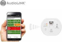 AudioLINK Melderdiagnose via Smartphone