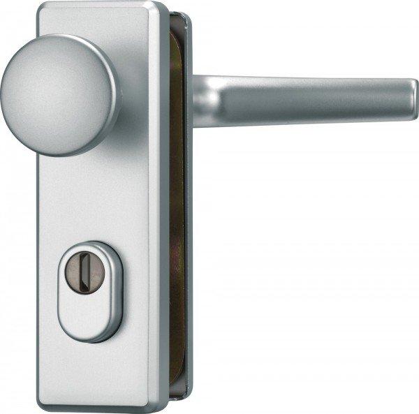 Türschutzbeschlag mit Zylinderschutz KKZS700 - Klasse ES1