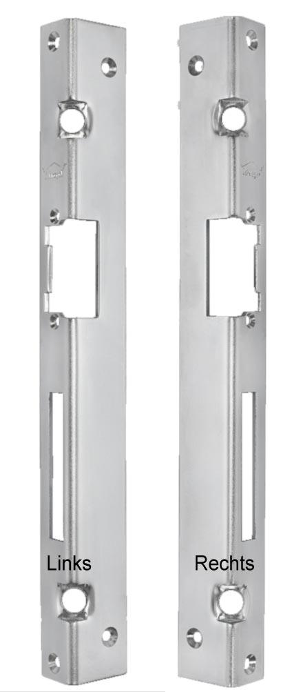 2 Schwerlastdübel Sicherheits Winkelschließblech 25x25x300x3 m
