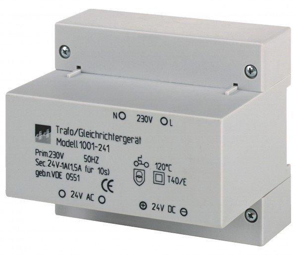 Trafo-Gleichrichter Modell 1001