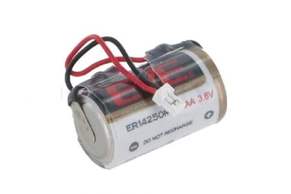 Batterie für DOM Protector - vorkonfektioniert - 3,6 V - 1/2 AA