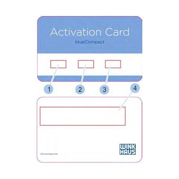 Ersatz Aktivierungskarte Winkhaus blueCompact