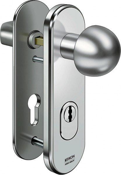 S426 Stahl-Schutzbeschlag mit Zylinderabdeckung