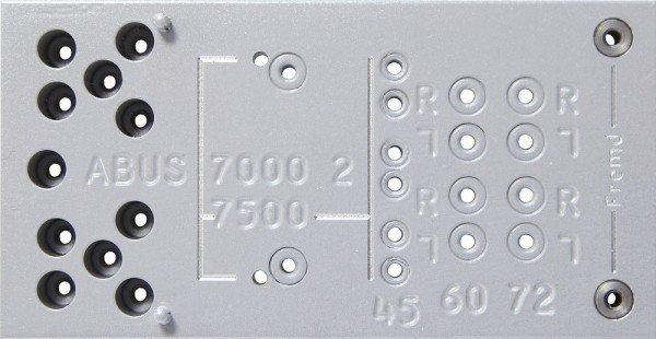 Bohrschablone 7000/7500