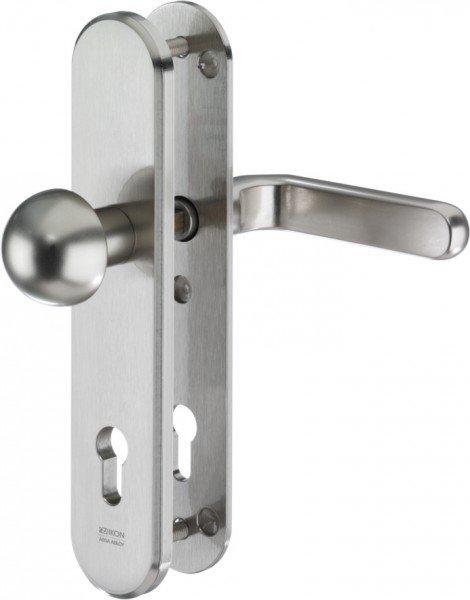 S316 Stahl-Schutzbeschlag ohne Zylinderabdeckung