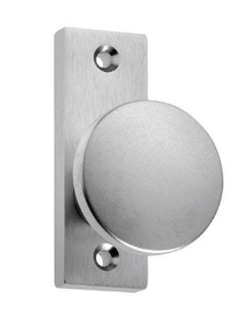 Knopf-Rosette Aluminium gerader runder Knopf