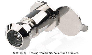 Türspion 170° Blickfeld, 17-27 mm Türdicke, Bohrloch 12 mm