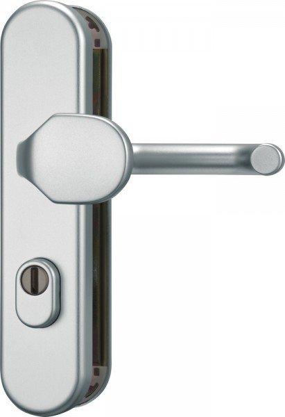 Schutzbeschlag KLZS714 FS Aluminium F1 - Wechselgarnitur