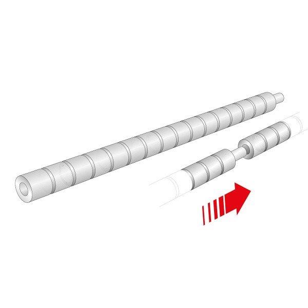 Stahlkern-Bolzen (4) für WinProtec Sicherheitsgitter