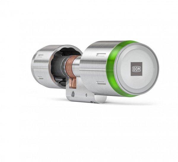 ENiQ Pro V2 BLE Glastürzylinder einseitig lesbar - Green LED