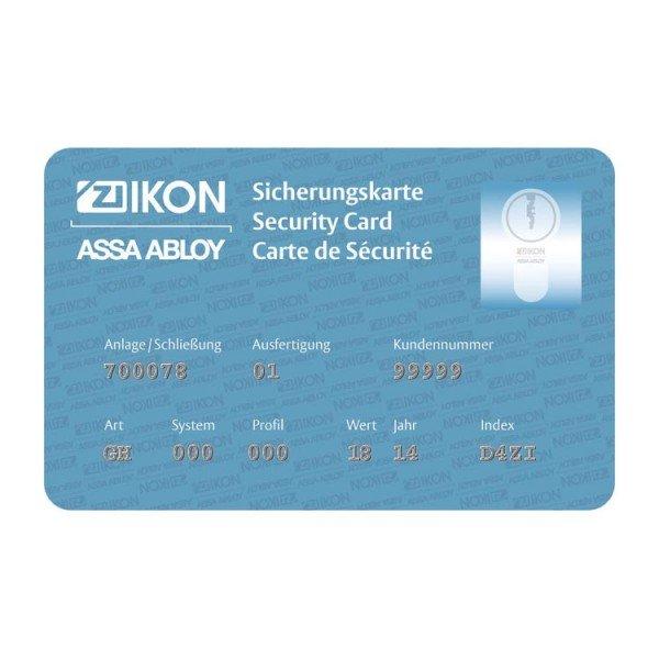 Sicherungskarte CLIQ Go NXKA