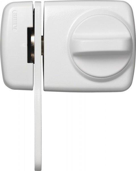 ABUS 7530 Kompaktes Tür Zusatzschloss weiß